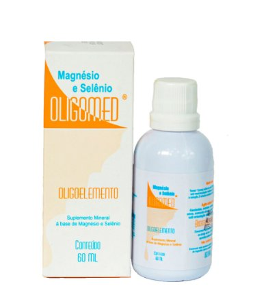 Magnésio e Selênio OLIGOMED 60ml