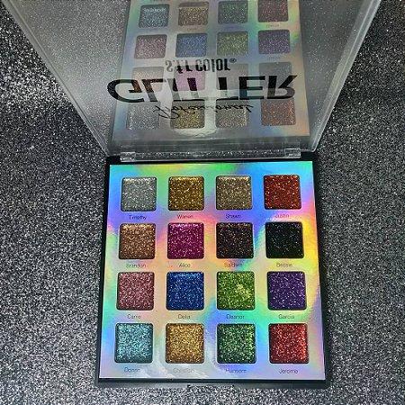 Paleta Professional Glitter