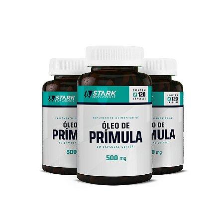 Kit 3x Óleo de Prímula 500 mg - 120 cápsulas