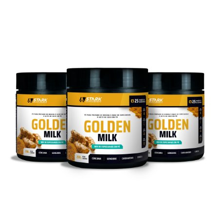 Kit 3x Golden Milk (250 g)