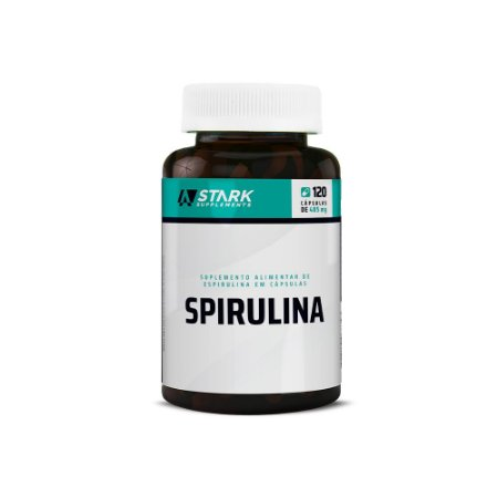 Spirulina - 120 Cápsulas