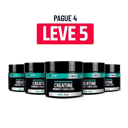 Kit 5x Creatine Monohydrate - 120 Cápsulas