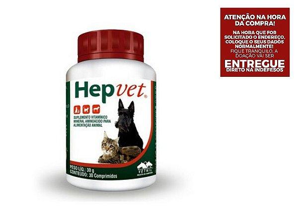Hepvet Vetnil 30 Comprimidos