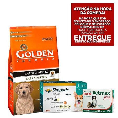 Kit Doação Cães Adultos