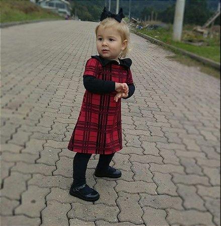 Vestido Boneca Xadrez