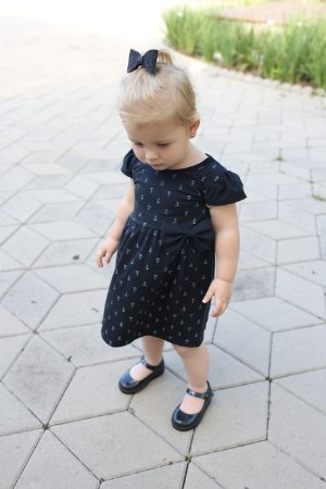 Vestido Âncora Preto