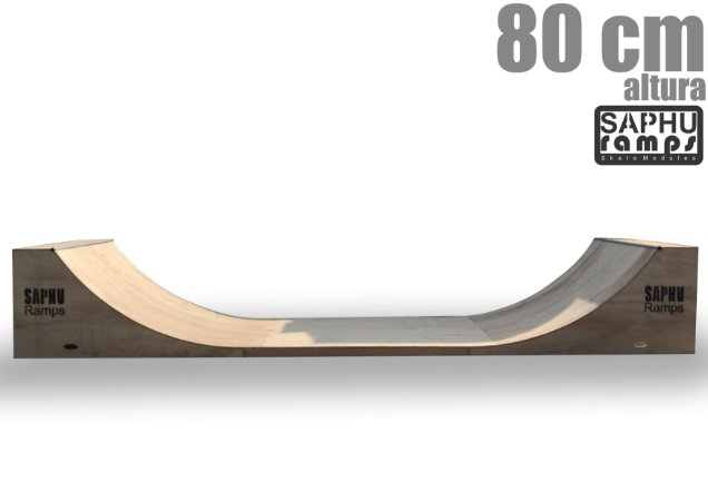 RAMPA SKATE MINI RAMP 80 (QUARTER PIPE)