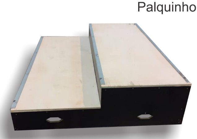 PALQUINHO SKATE PRETO DOIS NIVEIS (0.20A1/0.40A2/1.50L/2.00C) NAVAL