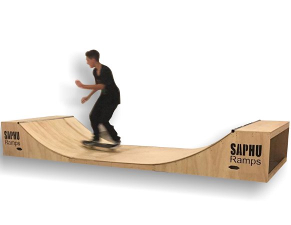 MINI RAMP SKATE 60 cm Teen SAPHU RAMPS