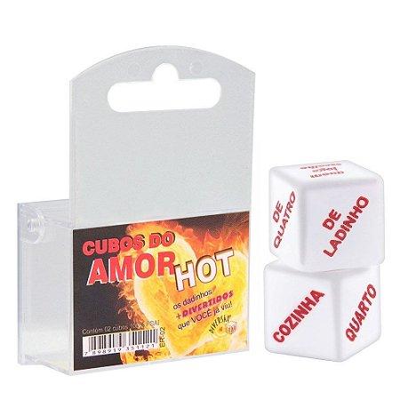 Dados do Amor Hot Unissex Duplo Diversão Ao Cubo