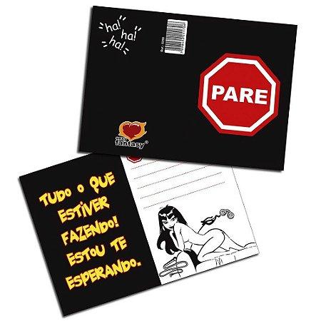 Cartão Pare! 05 Unidades Sexy Fantasy
