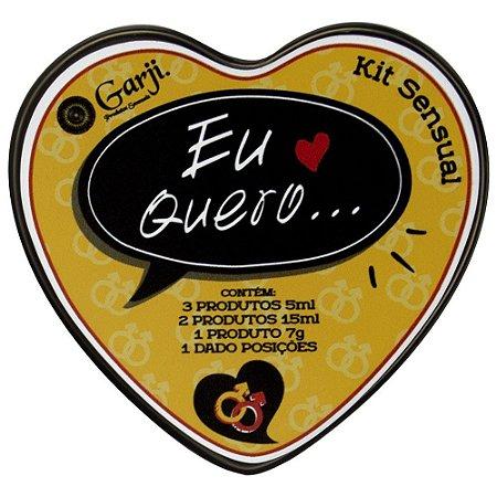 Kit Sensual Eu Quero Gay Garji