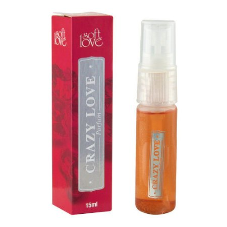 Perfume Afrodisíaco Crazy Love 15ml Soft Love