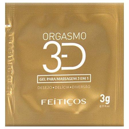 Sachê Orgasmo 3d Excitante 3g Feitiços