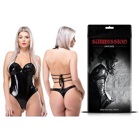 Body Em Vinil Submission Sexy Fantasy