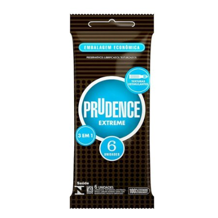 Preservativo Extreme Com 6 Unidades Prudence