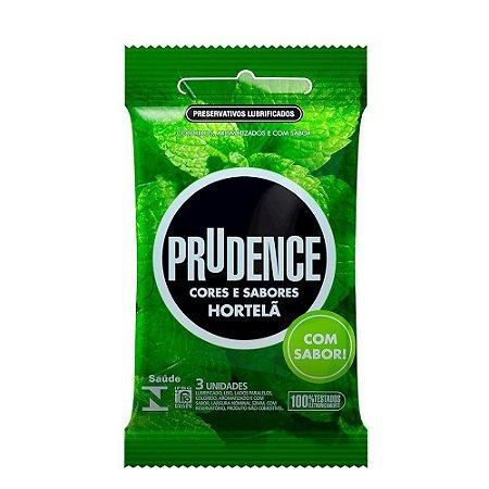 Preservativo Hortelã Com 3 Unidades Prudence