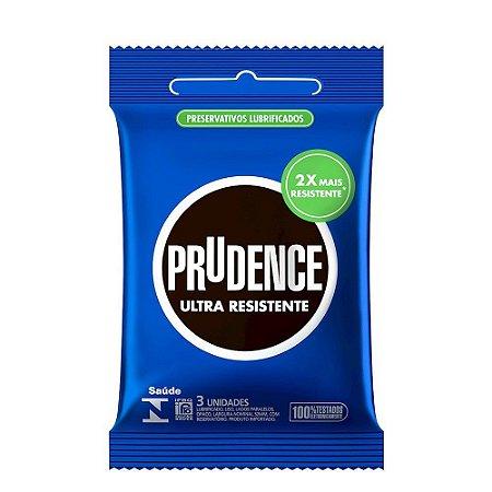 Preservativo Ultra Resistente Com 3 Unidades Prudence