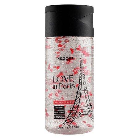 Love In Paris Sabonete Líquido Esfoliante 140ml Pessini