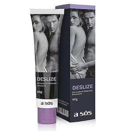 Gel Lubrificante Siliconado Deslize - 40g
