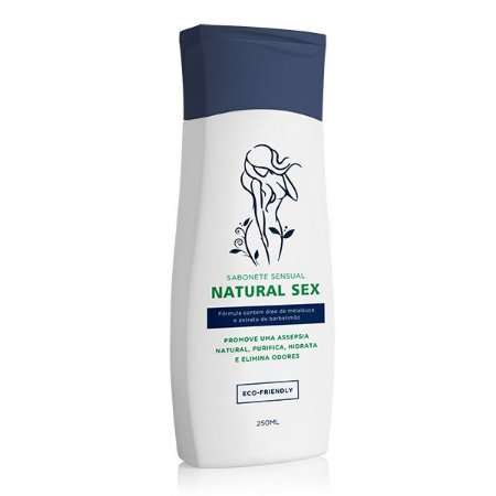 Sabonete Íntimo Líquido Natural Sex - 250ml