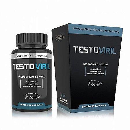 Disposição Sexual Masculina Testoviril - 60 Comprimidos
