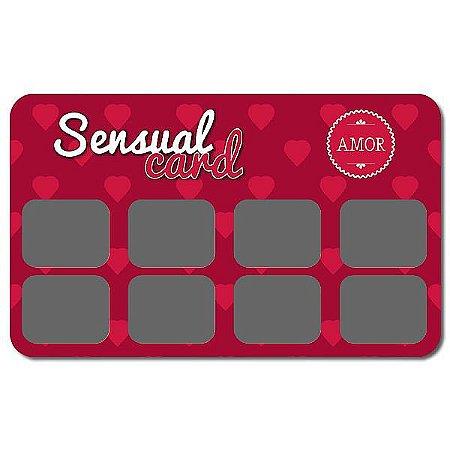 Raspadinha Sensual Card Amor – Pacote com 10 Unidades
