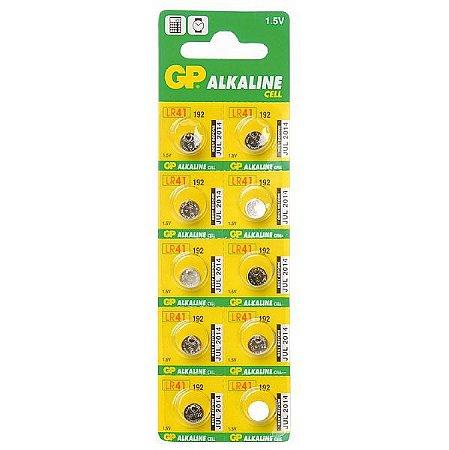 Bateria Alcalina LR41 1,5v