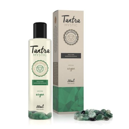 Óleo para Massagem Sensual Tantra Mystic Argan - 200ml