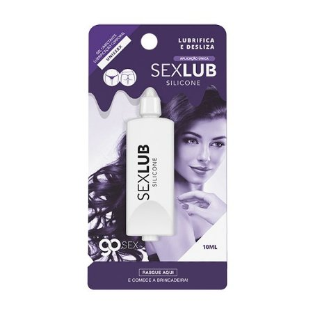 Gel Lubrificante Go Sex Silicone SexLub Aplicação Única - 10ml