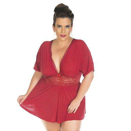 Camisola Plus Size Fabi Pimenta Sexy