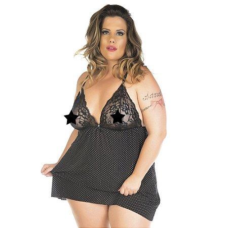 Camisola Plus Size Doçura Pimenta Sexy