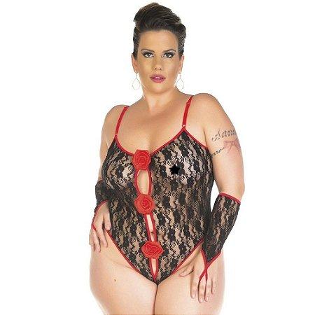 Body Sensual Plus Size Espanhola Pimenta Sexy