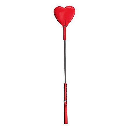 Chibata Coração na cor Vermelha