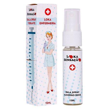 Loka Enfermeira Bala Spray Vibrante 15ml Loka Sensação