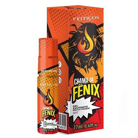 Chama da Fênix Excitante Hot Choque 17ml Feitiços