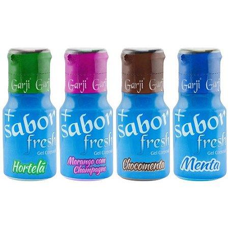 + Sabor Ice Gel Comestível 15ml Garji