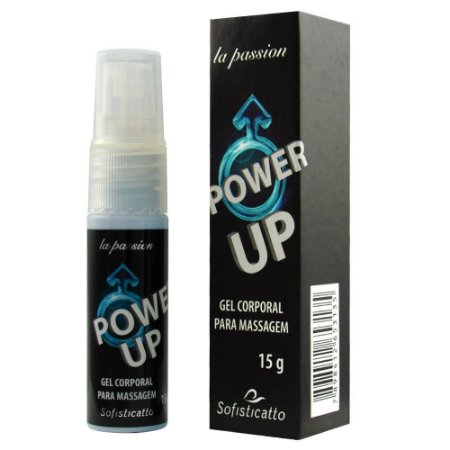 Power Up Gel Excitante Masculino 15g Sofisticatto