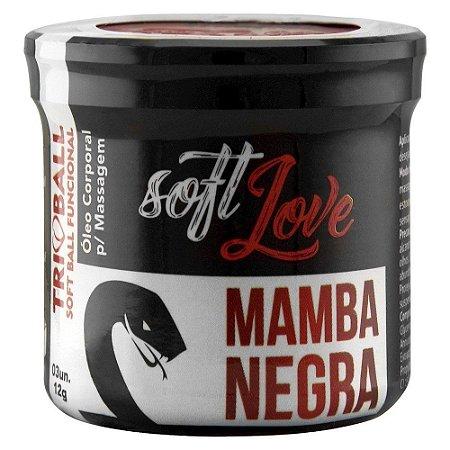 Triball Bolinha Mamba Negra 12g 03 Unidades Soft Love