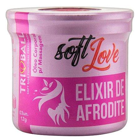 Triball Bolinha Elixir de Afrodite 12g 03 Unidades Soft Love