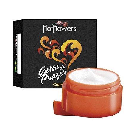 Gotas do Prazer Creme Pote 4g Hot Flowers
