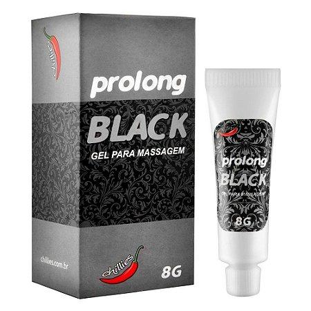 Prolong Black Masculino 8g Chillies