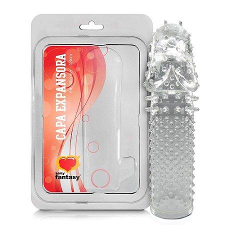 Capa Peniana Sensor Em Silicone Sexy Fantasy