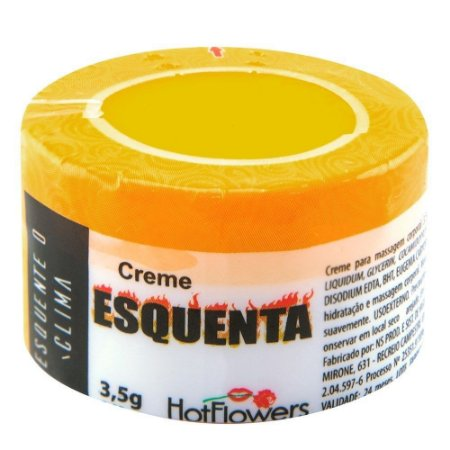 Esquenta Creme Funcional 3,5g Hot Flowers