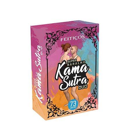 Super Baralho Kama Sutra Duo 73 Cartas Feitiços