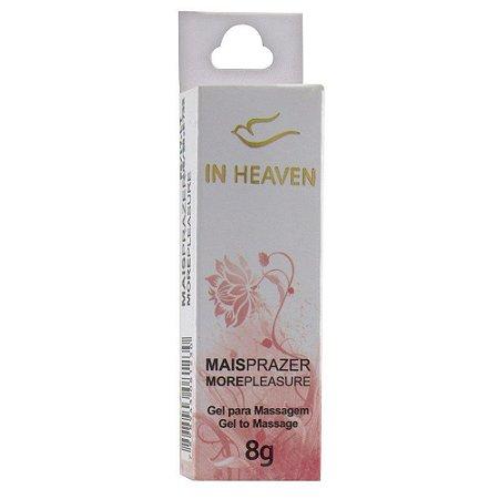 Mais Prazer In Heaven Excitante Feminino 8g Intt