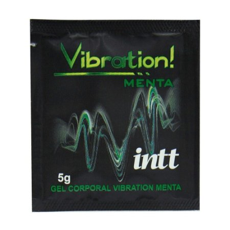 Vibration Gel Excitante Sachê 5g Intt
