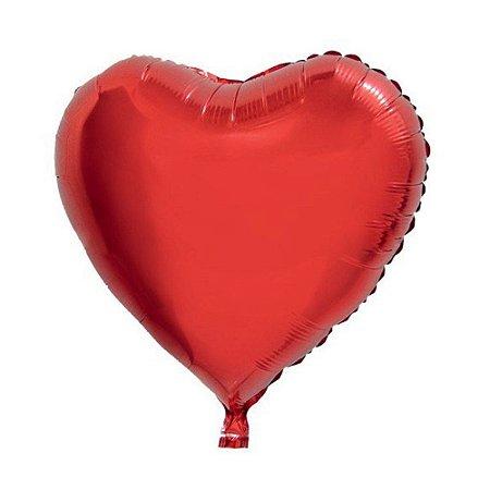 Balão Metalizado Coração 35cm Gtoys