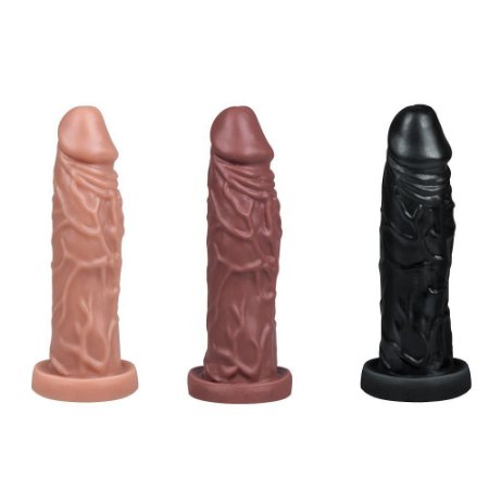 Prótese Realística Maciça 14,5 x 3,5cm La Pimienta