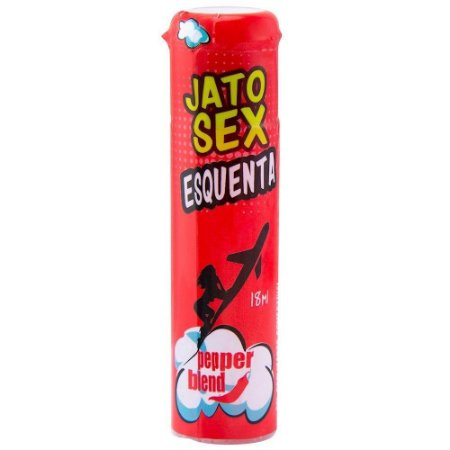 Jato Sex Esquenta Excitante 18ml Pepper Blend